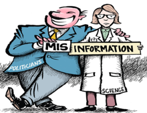 A Cartoon Demonstrating Mis Information