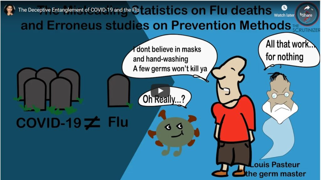 The Deceptive Entanglement of COVID-19 and the Flu