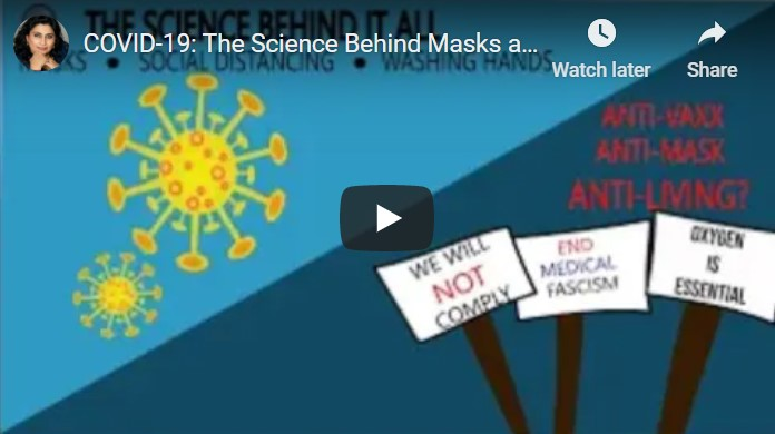 COVID-19: The Science Behind Masks and Social Distancing
