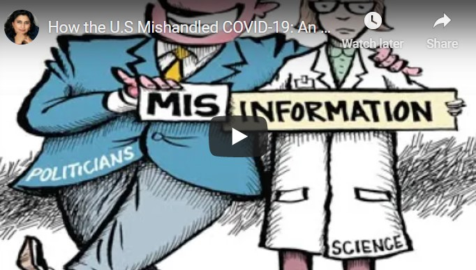 How the U.S Mishandled COVID-19: An Overview